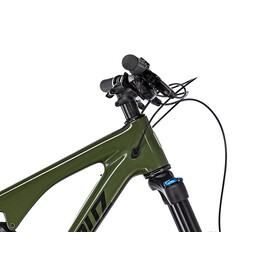 "Santa Cruz Bronson 2.1 C R-Kit MTB Fullsuspension 27,5"" grøn/oliven"